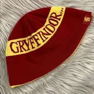 Gryffindor Harry Potter house knit beanie hat cap